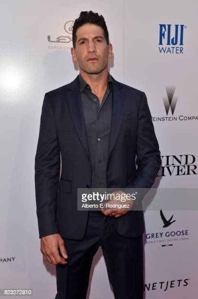 "Actor Jon Bernthal attends the premiere of The Weinstein Company's ""Wind River"" at The Theatre at Ace Hotel on July 26, 2017 in Los Angeles,..."