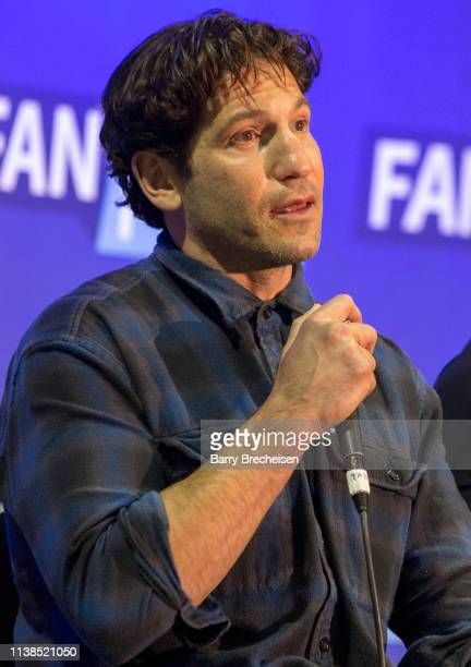 Actor Jon Bernthal during the Walker Stalker Fan Fest at Donald E Stephens Convention Center on April 20 2019 in Chicago Illinois