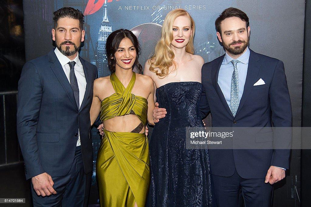 """""""Daredevil"""" Season 2 Premiere : News Photo"""