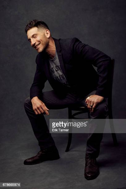 Actor Jon Bernthal from 'Sweet Virginia' poses at the 2017 Tribeca Film Festival portrait studio on on April 22 2017 in New York City