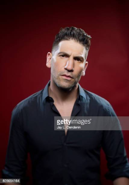 "Actor Jon Bernthal, from the television series ""Marvel's The Punisher,"" is photographed in the L.A. Times photo studio at Comic-Con 2017, in San..."