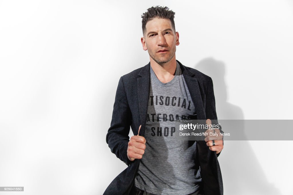 Actor Jon Bernthal is photographed for NY Daily News on April 22, 2017 at the Tribeca Film Festival in New York City.