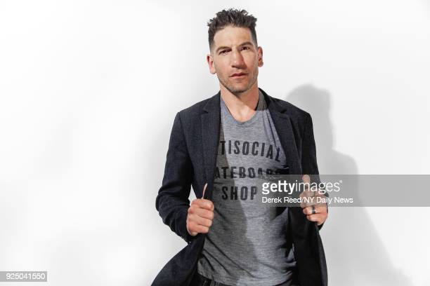 Actor Jon Bernthal is photographed for NY Daily News on April 22 2017 at the Tribeca Film Festival in New York City CREDIT MUST READ Derek Reed/NY...