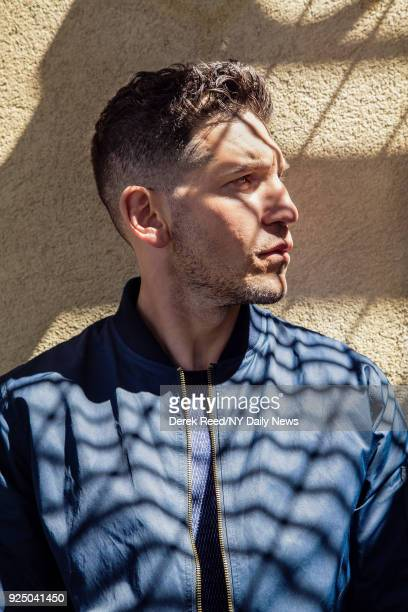 Actor Jon Bernthal is photographed for NY Daily News on April 23 2017 at the Tribeca Film Festival in New York City CREDIT MUST READ Derek Reed/NY...