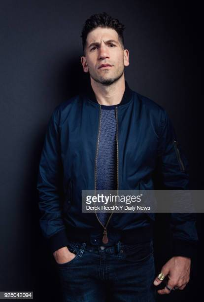 Actor Jon Bernthal is photographed for NY Daily News on April 23, 2017 at the Tribeca Film Festival in New York City. CREDIT MUST READ: Derek Reed/NY...