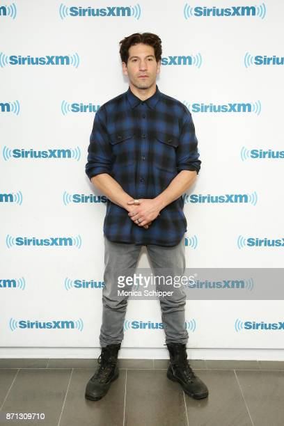 Actor Jon Bernthal visits SiriusXM Studios on November 7, 2017 in New York City.