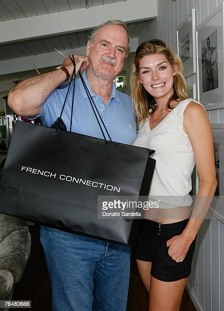 Actor Jon Cleese and daughter Camilla Cleese attends French Connection Styling Event at The French Connection Beach House In Malibu California...