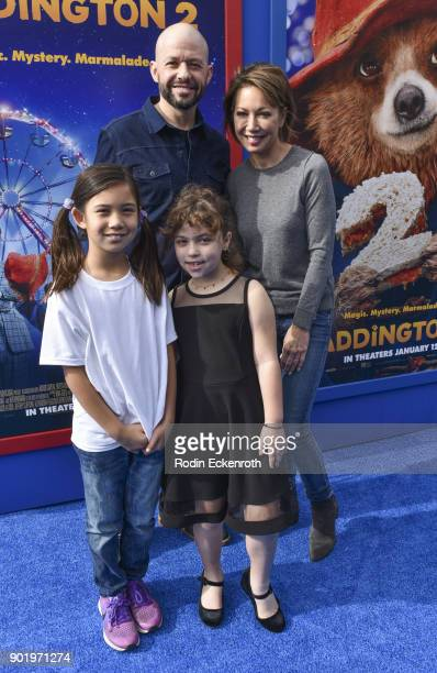 "Actor Jon Cryer and family arrive at the premiere of Warner Bros. Pictures' ""Paddington 2"" at Regency Village Theatre on January 6, 2018 in Westwood,..."