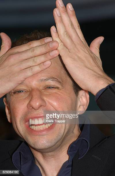 Actor Jon Cryer arrives at the world premiere of Catwoman in Los Angeles