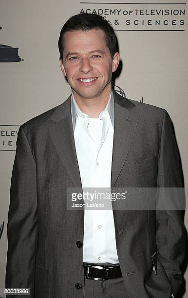 Actor Jon Cryer attends An Evening with Two and a Half Men held at The Leonard Goldenson Theater on February 27 2008 in North Hollywood California