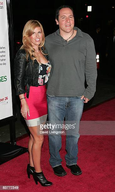 Actor Jon Favreau and his wife Joya Tillem attend the premiere of Warner Bros' Four Christmases at Grauman's Chinese Theatre on November 20 2008 in...