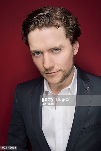 Actor Jon Fletcher is photographed for TV Guide Magazine on January 17 2015 in Pasadena California