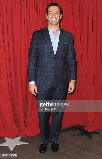 Actor Jon Hamm arrives at the 16th Annual AFI Awards on January 8 2016 in Los Angeles California