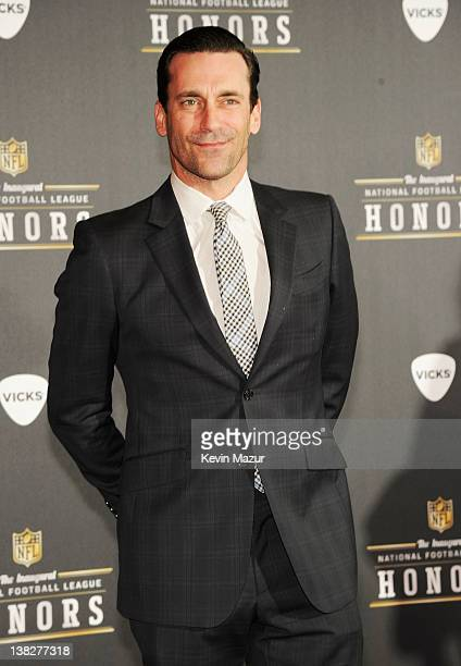 Actor Jon Hamm attends the 2012 NFL Honors at the Murat Theatre on February 4, 2012 in Indianapolis, Indiana.