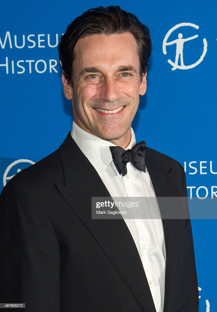 Actor Jon Hamm attends the 2015 American Museum Of Natural History Museum Gala at American Museum of Natural History on November 19, 2015 in New York City.