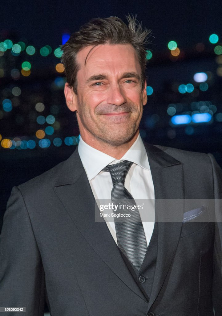 Actor Jon Hamm attends the 2017 Brooklyn Bridge Park Conservancy Brooklyn Black Tie Ball at Pier 2 at Brooklyn Bridge Park on October 5, 2017 in the Brooklyn borough of New York City, New York.