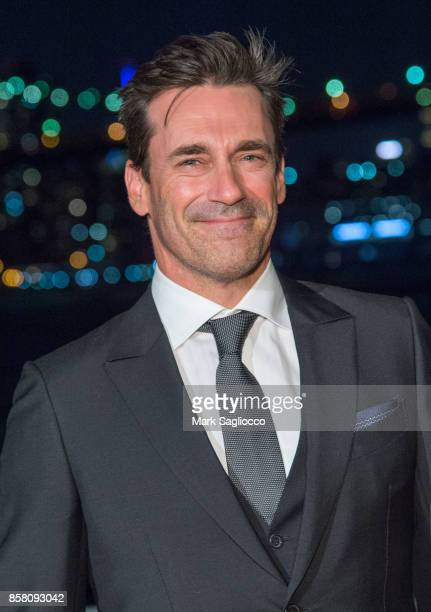 Actor Jon Hamm attends the 2017 Brooklyn Bridge Park Conservancy Brooklyn Black Tie Ball at Pier 2 at Brooklyn Bridge Park on October 5 2017 in the...