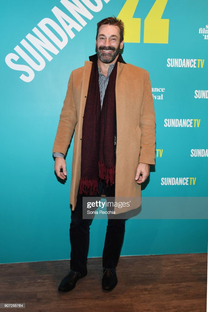 Actor Jon Hamm attends the 2018 Sundance Film Festival Official Kickoff Party Hosted By SundanceTV during the 2018 Sundance Film Festival at SundanceTV HQ on January 19, 2018 in Park City, Utah.