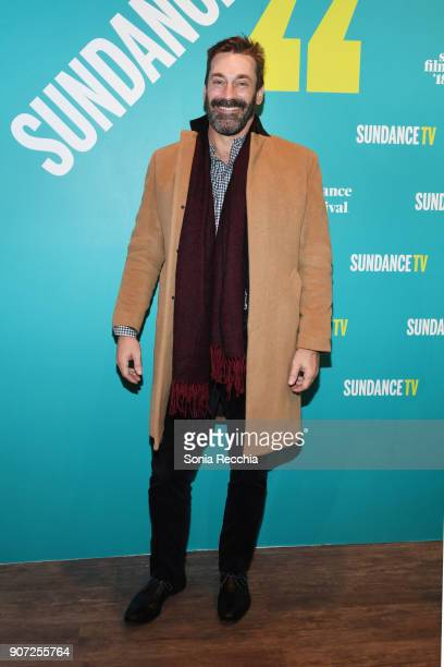 Actor Jon Hamm attends the 2018 Sundance Film Festival Official Kickoff Party Hosted By SundanceTV during the 2018 Sundance Film Festival at...