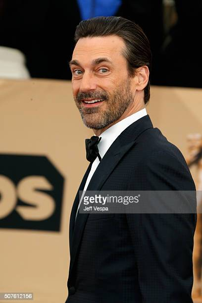 jon hamm im genes y fotograf as getty images. Black Bedroom Furniture Sets. Home Design Ideas