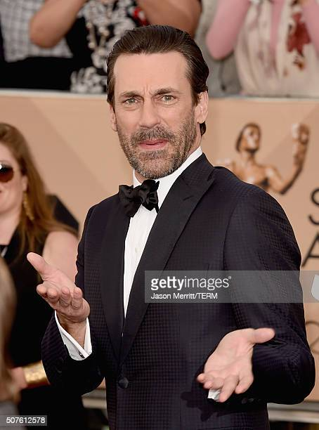 Actor Jon Hamm attends The 22nd Annual Screen Actors Guild Awards at The Shrine Auditorium on January 30 2016 in Los Angeles California 25650_015