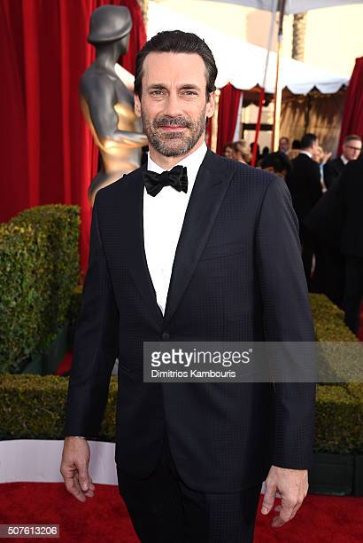 Actor Jon Hamm attends The 22nd Annual Screen Actors Guild Awards at The Shrine Auditorium on January 30 2016 in Los Angeles California 25650_013