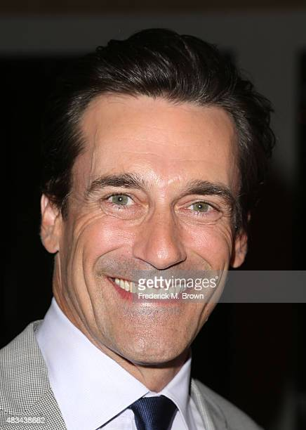 Actor Jon Hamm attends the 31st annual Television Critics Association Awards at The Beverly Hilton Hotel on August 8, 2015 in Beverly Hills,...