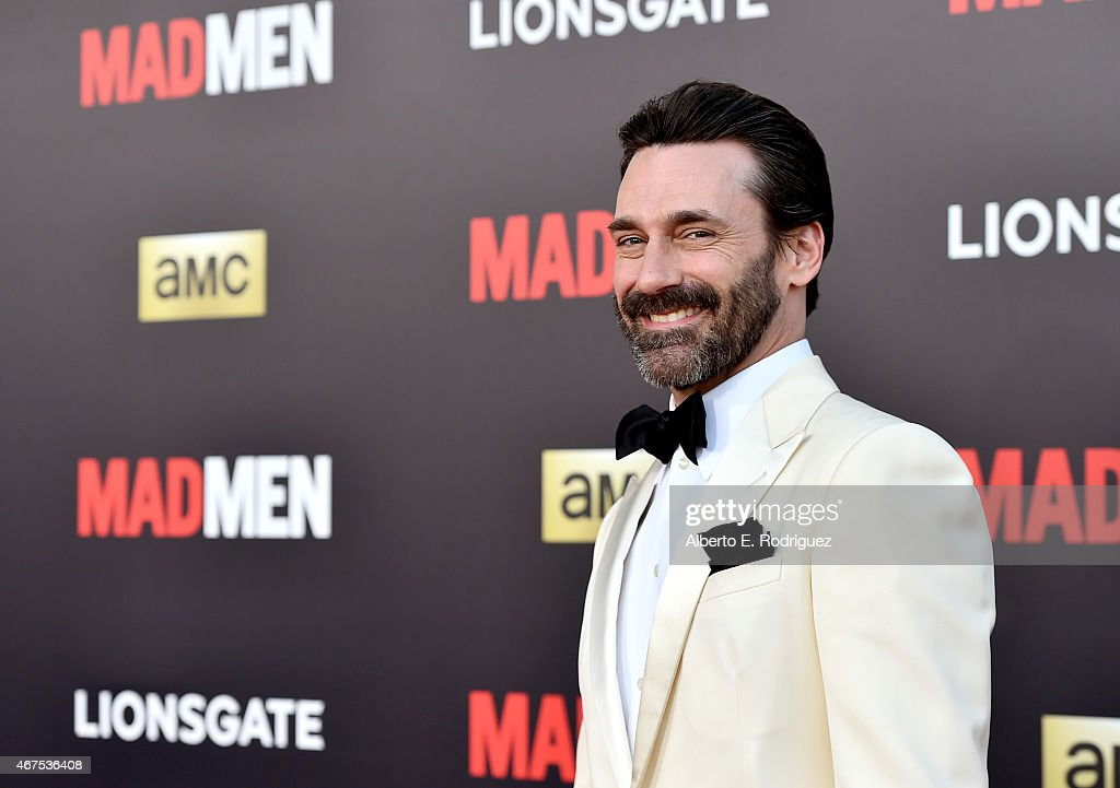 """AMC Celebrates The Final 7 Episodes Of """"Mad Men"""" With The Black & Red Ball - Red Carpet"""