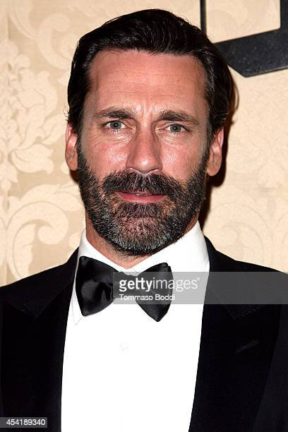 Actor Jon Hamm attends the AMC IFC And Sundance Channel's Primetime Emmy Awards Party 2014 held at BOA Steakhouse on August 25 2014 in West Hollywood...