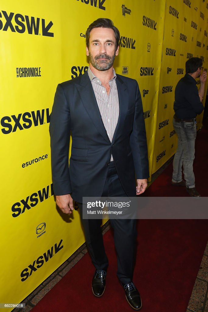 Actor Jon Hamm attends the 'Baby Driver' premiere 2017 SXSW Conference and Festivals on March 11, 2017 in Austin, Texas.