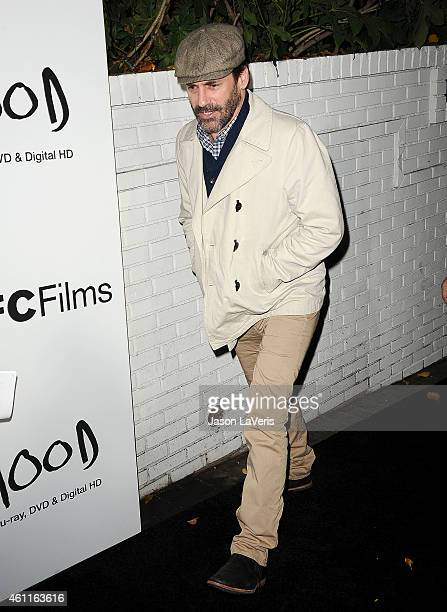 """Actor Jon Hamm attends the """"Boyhood"""" reception at Chateau Marmont on January 7, 2015 in Los Angeles, California."""