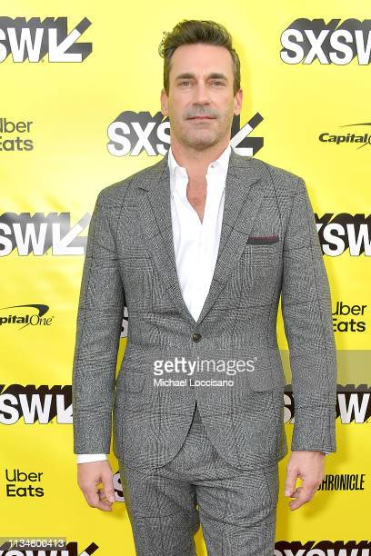 Actor Jon Hamm attends the Good Omens The Nice and Accurate SXSW Event during the 2019 SXSW Conference and Festivals at ZACH Theatre on March 09 2019...