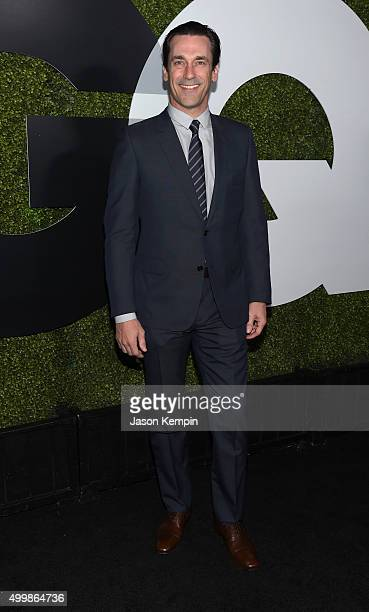 Actor Jon Hamm attends the GQ 20th Anniversary Men Of The Year Party at Chateau Marmont on December 3 2015 in Los Angeles California