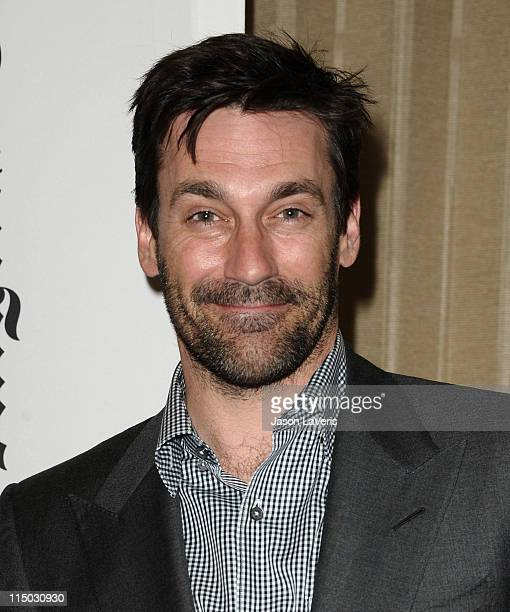 Actor Jon Hamm attends the Mad Men screening at Los Angeles Times' 3rd annual The Envelope primetime Emmy screening series at Regal Cinemas LA Live...