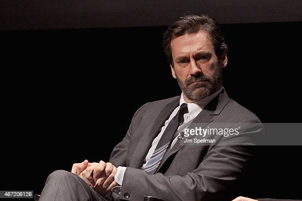 Actor Jon Hamm attends the 'Mad Men' special screening at The Film Society of Lincoln Center on March 21 2015 in New York City