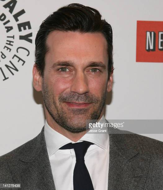 """Actor Jon Hamm attends The Paley Center for Media's PaleyFest 2012 Honoring """"Mad Men"""" at Saban Theatre on March 13, 2012 in Beverly Hills, California."""