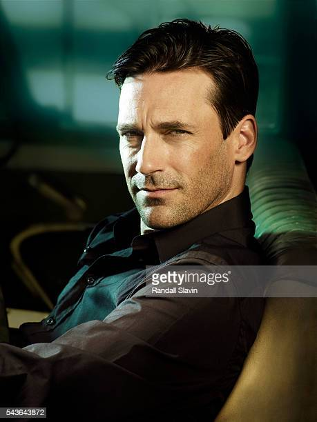 Actor Jon Hamm is photographed for Access Directv on April 18 2008 in Los Angeles California