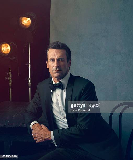 Actor Jon Hamm is photographed for Emmy magazine on September 20 2015 in Los Angeles California