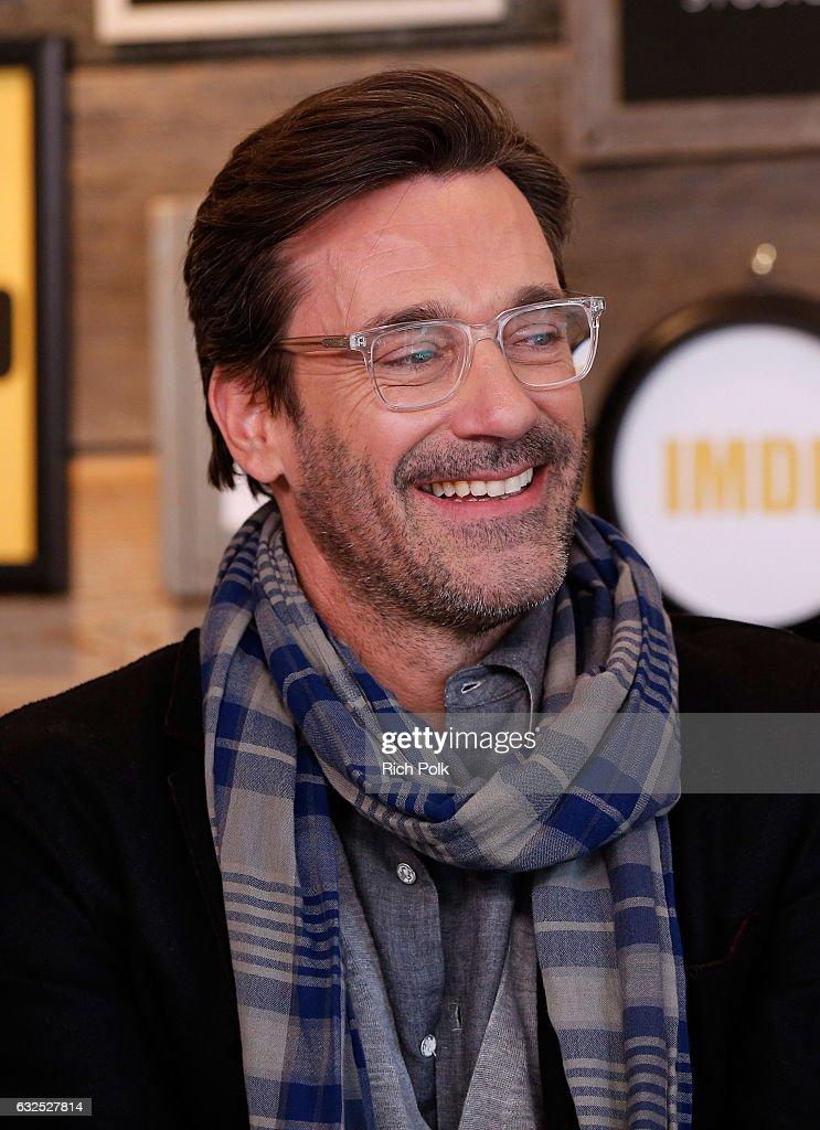 Actor Jon Hamm Of Marjorie Prime Attends The Imdb Studio Featuring