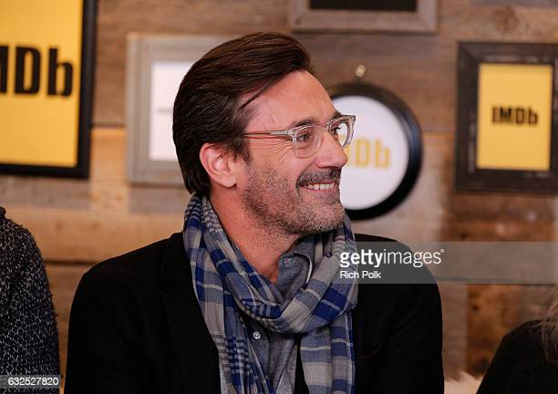 Actor Jon Hamm of Marjorie Prime attends The IMDb Studio featuring the Filmmaker Discovery Lounge presented by Amazon Video Direct Day Four during...