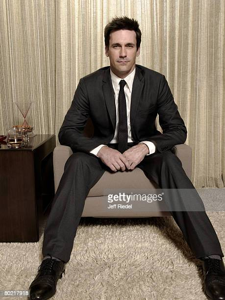 Actor Jon Hamm poses at a portrait session in Los Angeles