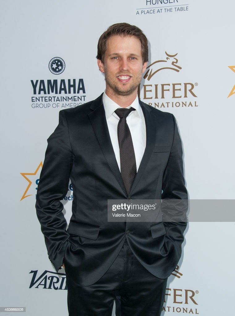 Actor Jon Heder arrives at the Heifer International's 3rd Annual 'Beyond Hunger: A Place At The Table' Gala at Montage Beverly Hills on August 22, 2014 in Beverly Hills, California.