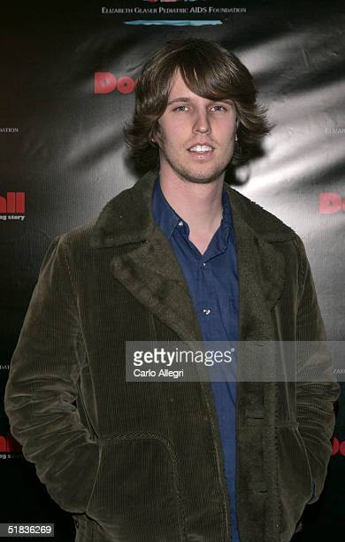 Actor Jon Heder attends Dodgeball The Celebrity Tournament to benefit the Elizabeth Glaser Pediatric Aids Foundation and celebrate the DVD Release of...