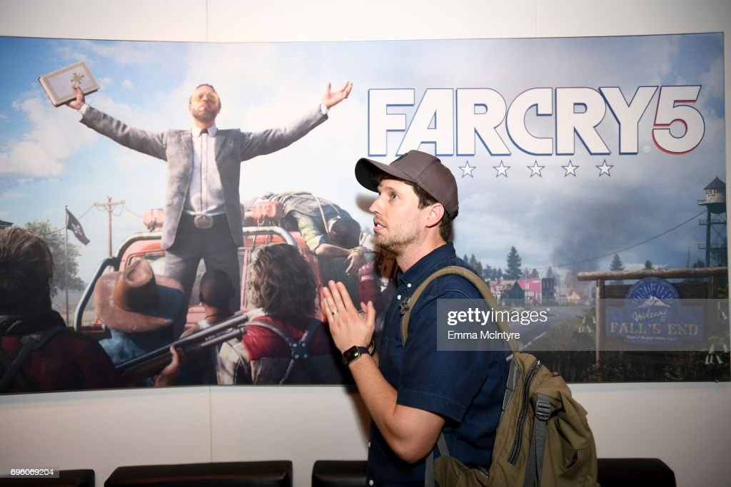 Actor Jon Heder attends E3 2017 at Los Angeles Convention Center on June 14, 2017 in Los Angeles, California.