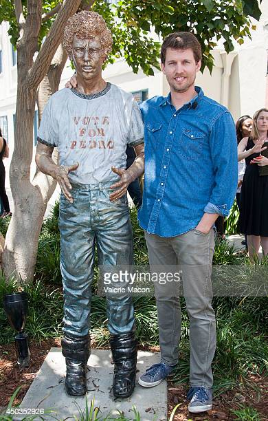 Actor Jon Heder attends the Fox Searchlight Pictures Twentieth Century Fox Home Entertainment Celebrates Napoleon Dynamite 10th Anniversary With...