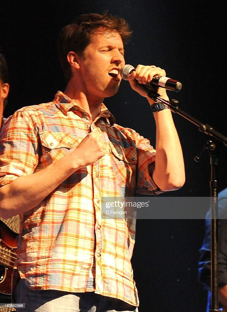 Actor Jon Heder performs during the San Francisco PETTY FEST at The Fillmore on February 27, 2013 in San Francisco, California.