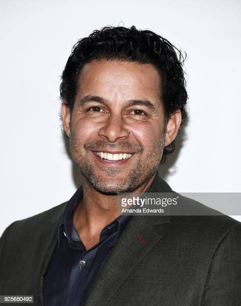 Actor Jon Huertas arrives at the 15th Annual Global Green PreOscar Gala on February 28 2018 in Los Angeles California