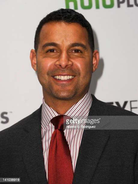 Actor Jon Huertas arrives to The Paley Center for Media's PaleyFest 2012 honoring 'Castle' at Saban Theatre on March 9 2012 in Beverly Hills...