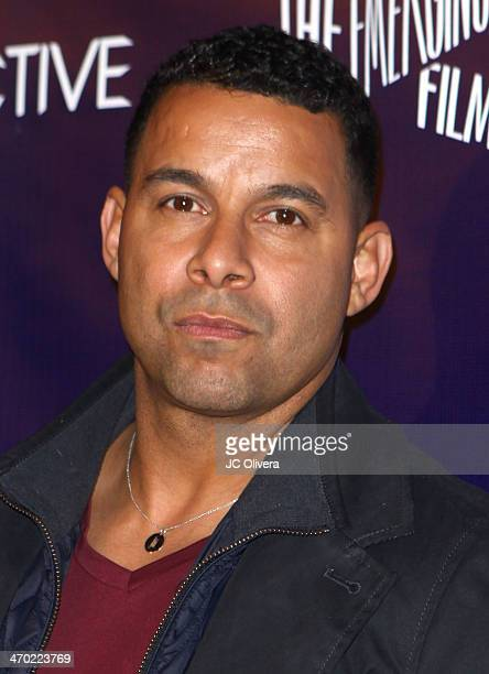 Actor Jon Huertas attends NUVOtv Series Launch Premiere Party at Siren Studios on February 18 2014 in Hollywood California