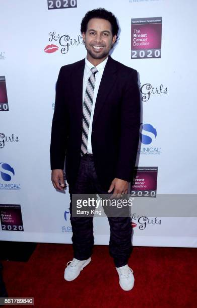 Actor Jon Huertas attends the 17th Annual 'Les Girls' at Avalon on October 15 2017 in Hollywood California